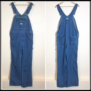 Liberty Mens Denim Carpenter Style Overalls *32x32